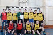 Победа на зональном этапе соревнований по футболу среди средних профессиональных учреждений