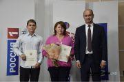 Руководитель Агентства по печати и СМИ Башкирии Максим Ульчев наградил благодарственными письмами ведомства призёров и наставников WorldSkills Russia-2021